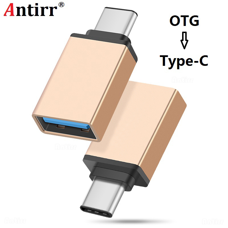 Antirr USB 3.0 Type-C OTG Cable Adapter Type C USB C OTG Converter For Xiaomi Huawei P10 Mouse Keyboard DIsk Flash Macbook Nexus