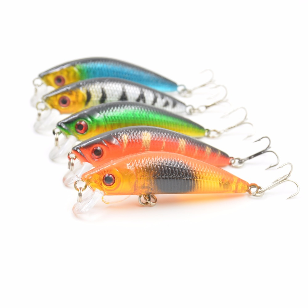 1Pcs/lot Minnow Fishing Lures 7cm/7.9g Isca Artificial Fishing Wobblers Pesca Hard Bait Fishing Tackle Everything For Fishing