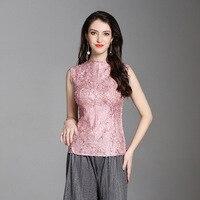 Summer Women Crinkled Office Lady Satin Fashion Sleeveless O neck Pullover Tidal Blouses Shirts