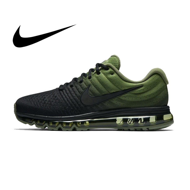 Original Authentic Nike AIR MAX Men's Running Shoes Fashion Breathable Outdoor Sports Shoes 2019 Fashion New 849559-006(China)