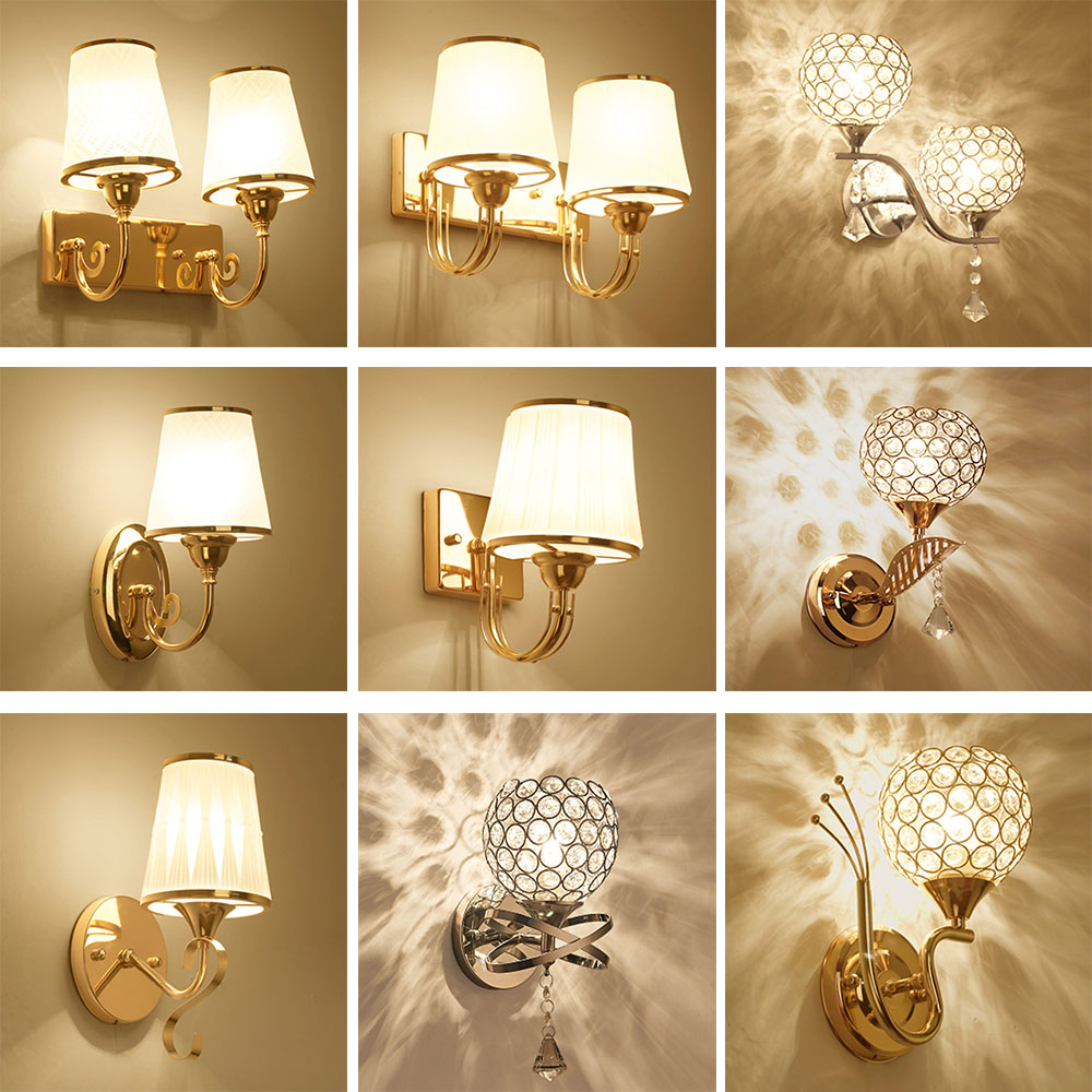 Hghomeart Bedroom Wall Lighting Contemporary Led Wall Lamp