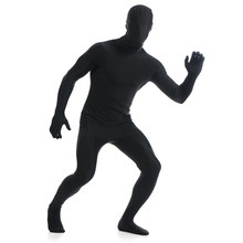 5c34abd93f9 Ainclu 24 hours New Black Lycra Spandex Zentai Suit for Men Rush order Same  day shipping 24-hour ship-out service