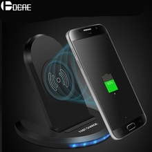 DCAE Qi Fast Wireless Charger For iPhone XS MAX XR X 8 Plus USB 10W Quick Charge Charging Holder For Samsung Galaxy S8 S9 Note 9