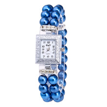 Quartz Watch Women Gold Pearl Jewelry Steel Bracelet Wristwatch Women Female Ladies Crystal Casual Fashion Watch