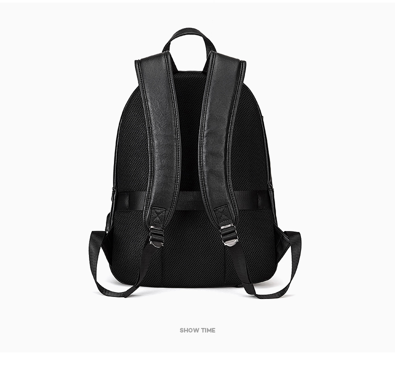 HTB1gz2DaeP2gK0jSZFoq6yuIVXai - DIDE Male Backpack USB Charge Waterproof 15.6 inch Laptop Backpack Leather Travel Casual Vintage School Bag For Men Black