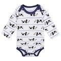 2017 Nova Moda Bebê Meninos de Roupas Recém-nascidos Outono E Inverno Interior Conjuntos Conjuntos Macacão de Bebê infantil Do Bebê Da Menina roupas