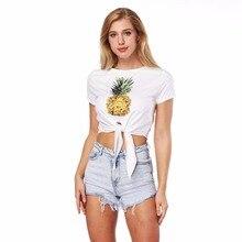 2018 tee shirt female T-shirt for women kawaii womens shirts summer t-shirt treronae clothes croup top woman