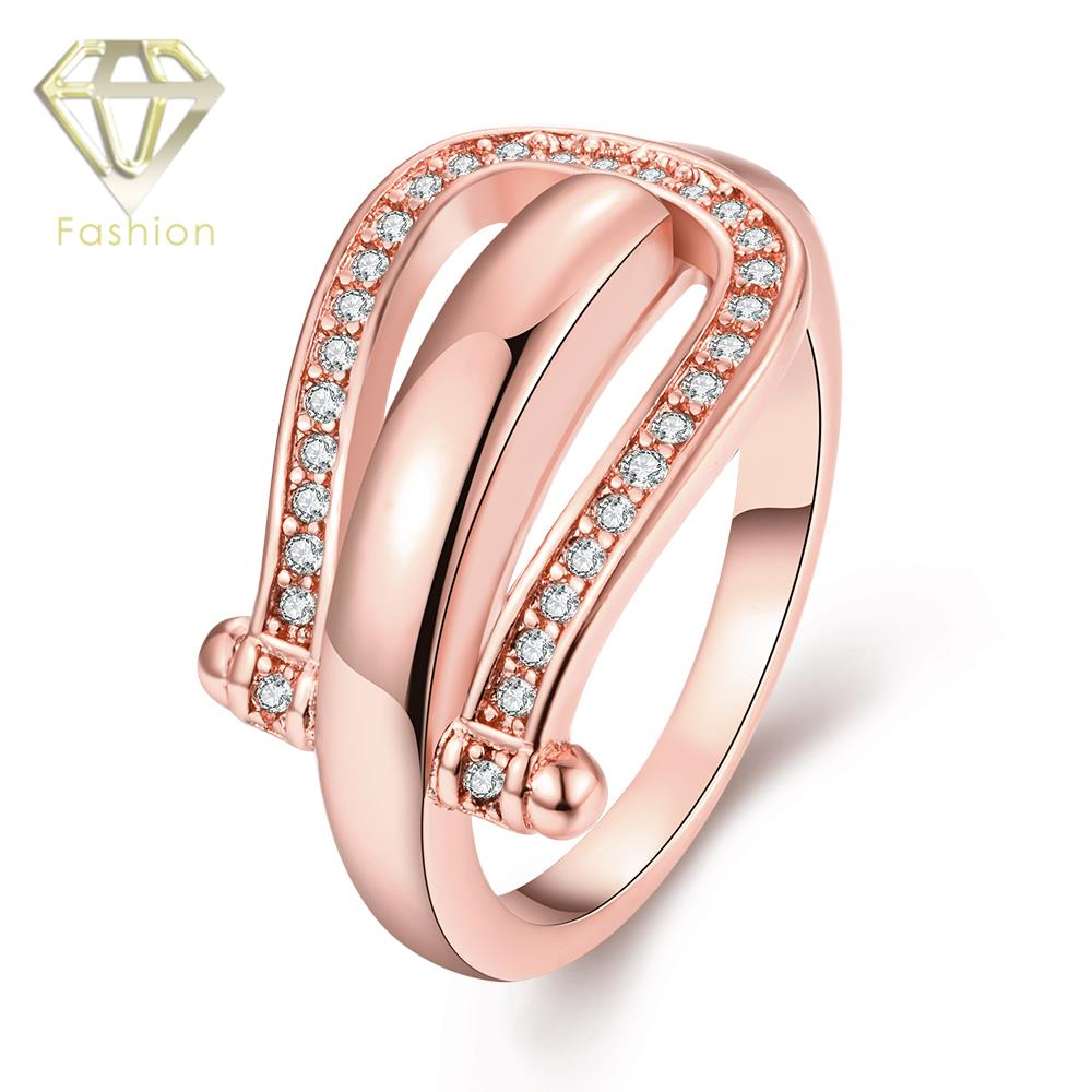 2017 New Design /Rose/White Gold Color with AAA+ Cubic Zirconia ...