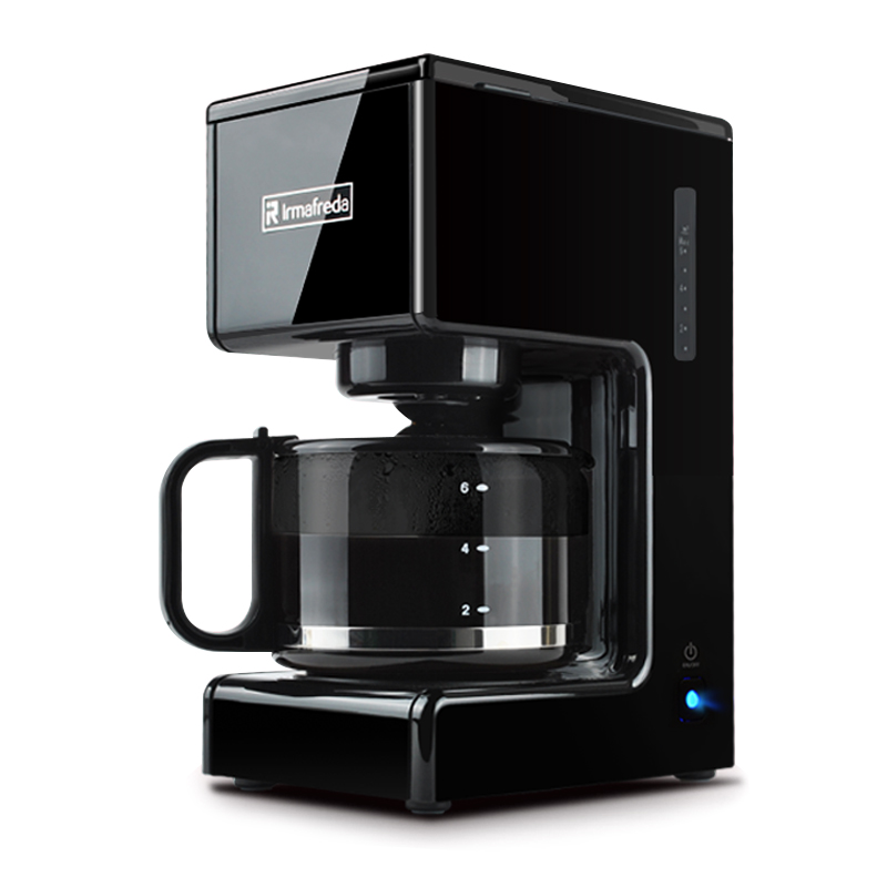 Household intelligent Coffee machine Fully automatic American style coffee pot Drip type Coffee machine Automatic power off coffee machine home american style drip type fully automatic small mini coffee pot