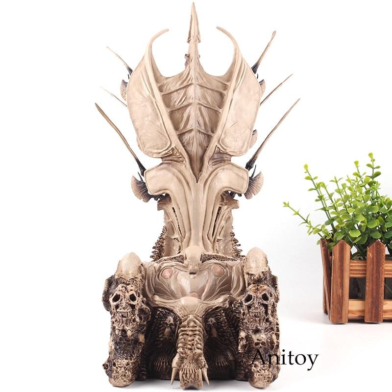 Figurines d'action prédateur NECA Diorama élément chef de Clan trône Statue PVC Collection jouet 32.5 cm