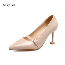 High Heels Women Pumps High Heel Shoes Stiletto Woman Party Wedding Shoes Kitten Heels Plus Size 33 34 – 40 41 42 43 44 45 46 47