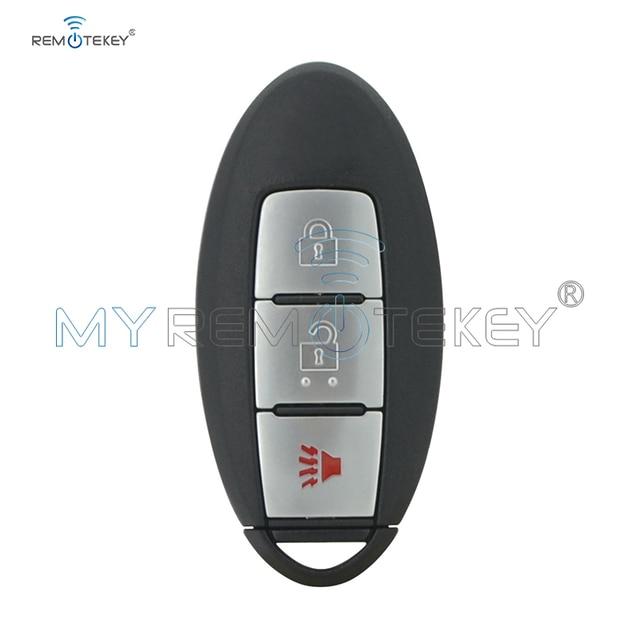 Télécommande Remtekey 7812D-S180014 3 boutons 433mhz   47 puces, clé de voiture intelligente pour Nissan Pathfinder 2013 2014 2015