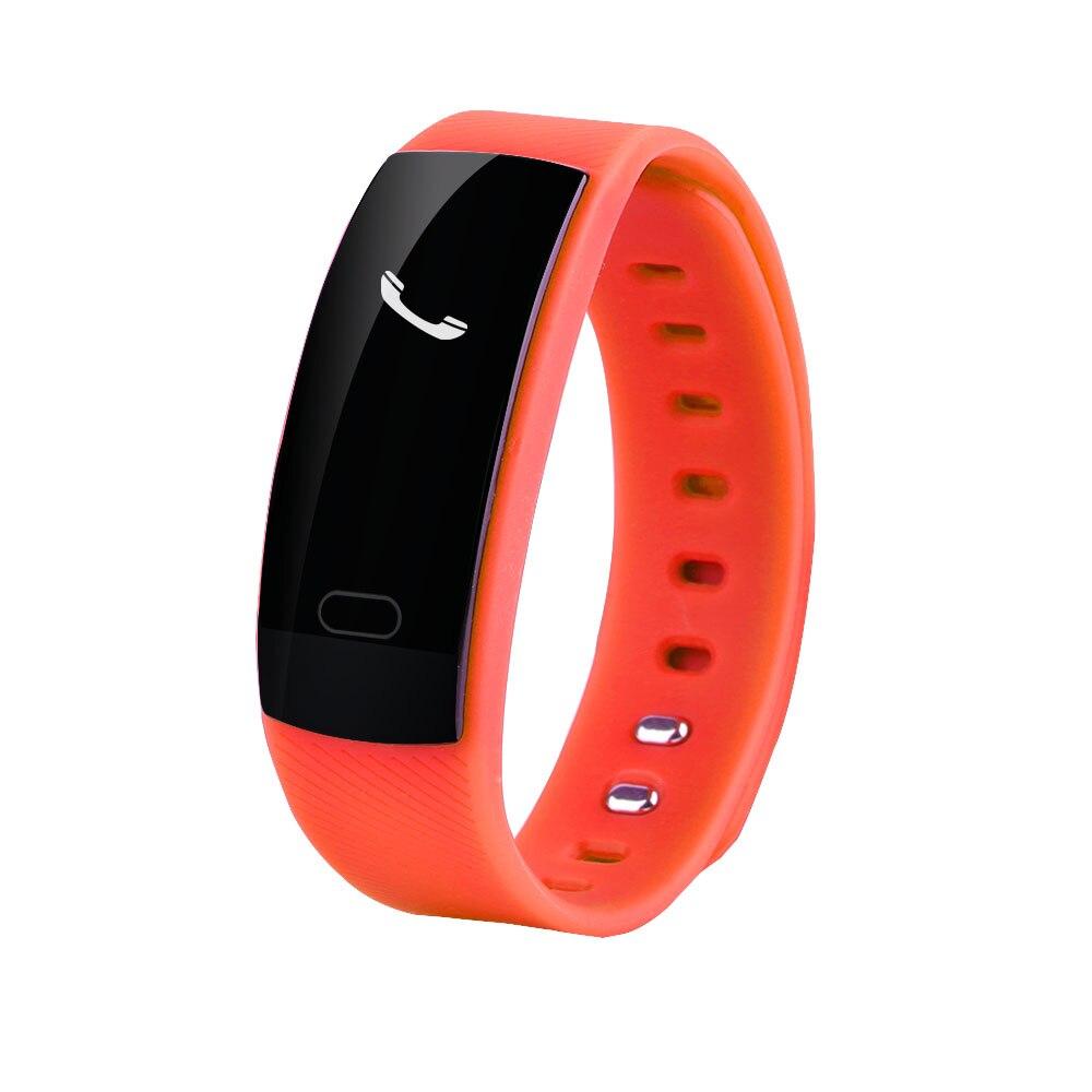 Waterproof Wristband Fitness Tracker Heart Rate Monitor Blood Pressure Pedometer Sleep Monitor Bracelet