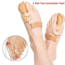 Juanete dispositivo Hallux Valgus correctores ortopédicos pies corrección noche pie cuidado pulgar Corrector buenas noches diario hueso grande herramientas