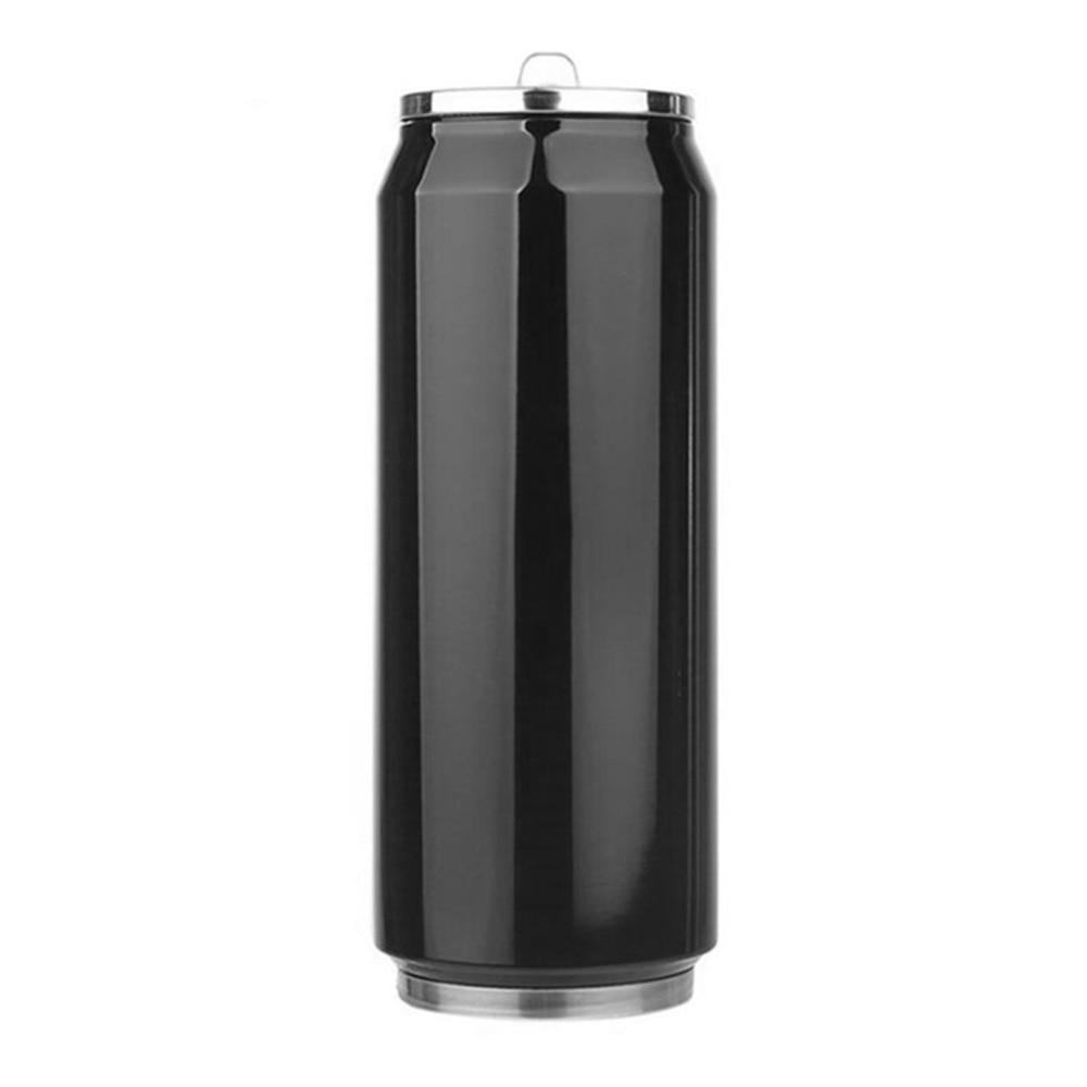 350ml Stainless Steel Insulated thermos Water Bottle Vacuum Flask coffee mug Large Capacity Thermal Mug Coffee Coke Leak-proof