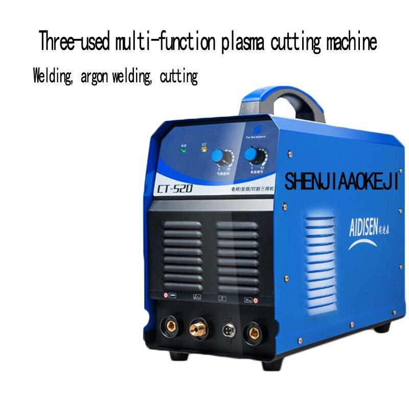 CT520 три используется сварочный аппарат ручной сварочных работ сварщик аргонодуговой Многофункциональный плазменной резки энергосберегаю