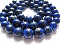 Высокое качество лазурит шарм бусины круглый шар голубой золотые украшения бусины 8 мм -- 2 strands 16