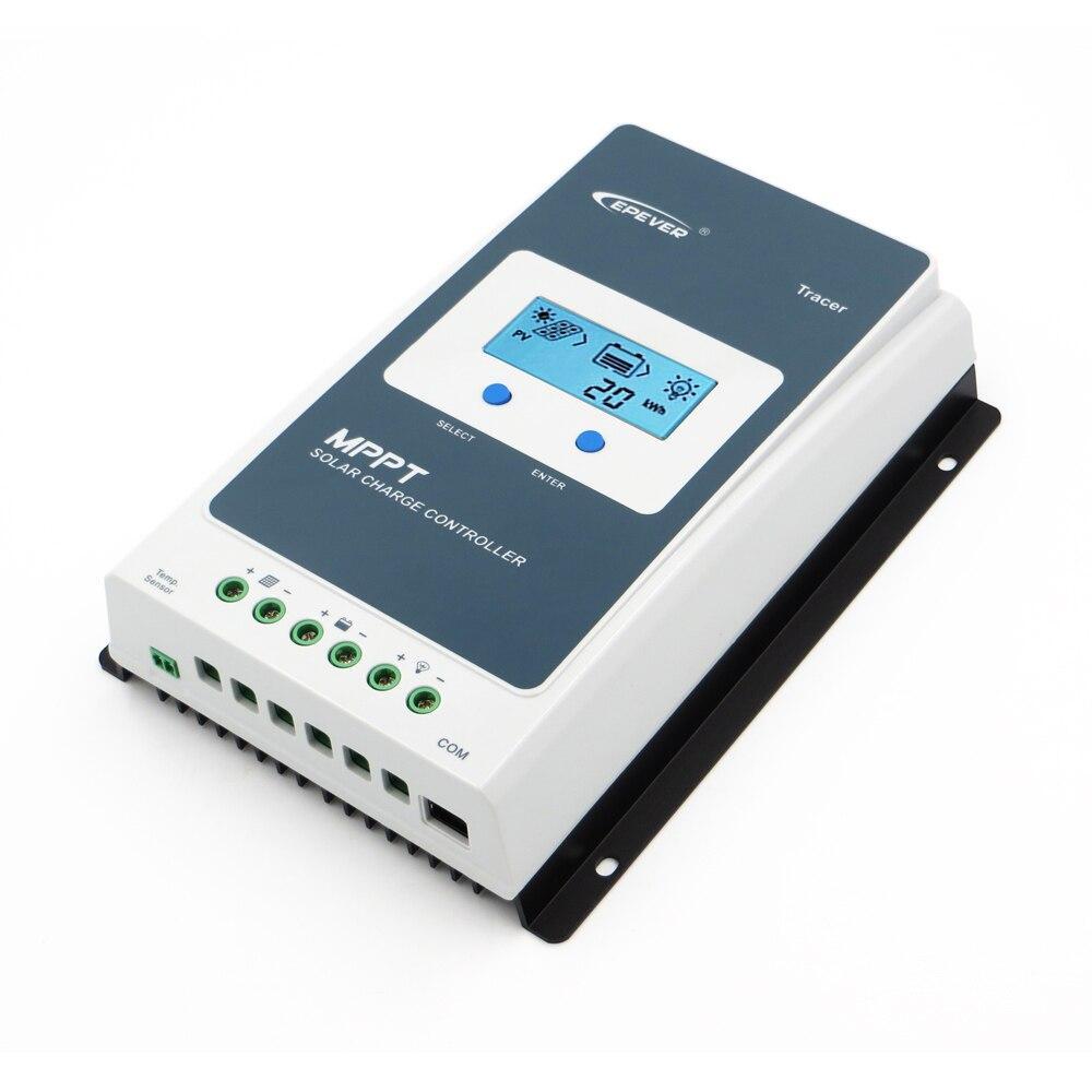 MPPT Chargeur Solaire Contrôleur 20A 12 V 24 V Tracer2206AN Tracer2210AN cellulaire batterie de contrôle de charge 2206AN 2210A Traceur Régulateur