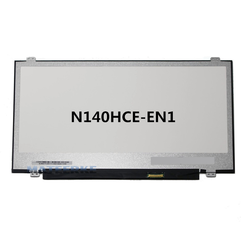 14'' Laptop Replacement FHD IPS LCD Display LED Screen N140HCE-EN1 1920*1080 30PIN new 14 0 slim lcd screen display panel laptop matrix replacement n140hce en1 30 pins edp ips high gamut wuxga fhd 1920x1080