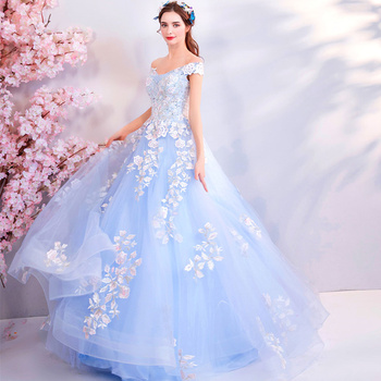 2019 Hot Off The Shoulder Evening Dresses For Wedding Sleeveless Lace Appliques Prom Gowns Trailing Embroidery Vestido de noche
