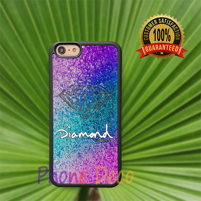 Glitter Diamond Supply Co Fashion Cell Phone Cases For Iphone 7 7 plus 6 6s 6plus 6splus 5 5s 5c 4 4s H1019