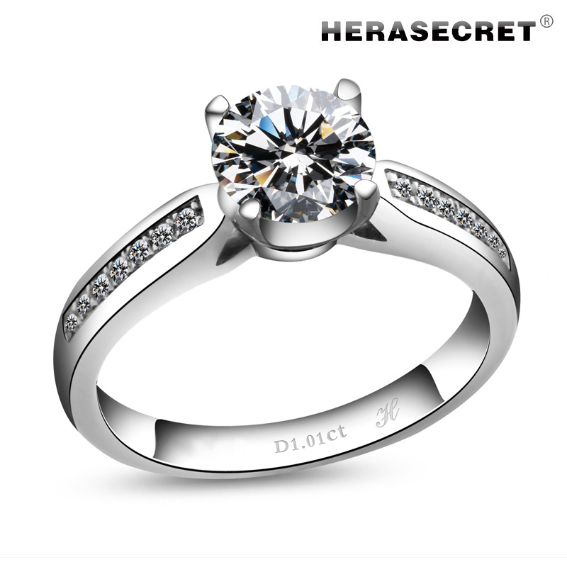 and engagement jewelry carat filled with diamond cz style from fashion aliexpress aaa in rings platinum heart color accessories women wedding item for silver ring zircon