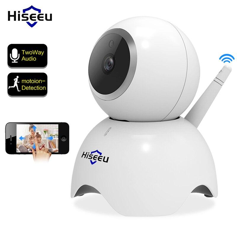 Hiseeu Wifi Caméra 1080 p 2 m de Sécurité À Domicile Sans Fil de Surveillance IP IR de Vision Nocturne Réseau Caméra Surveillance Mobile Bébé moniteur