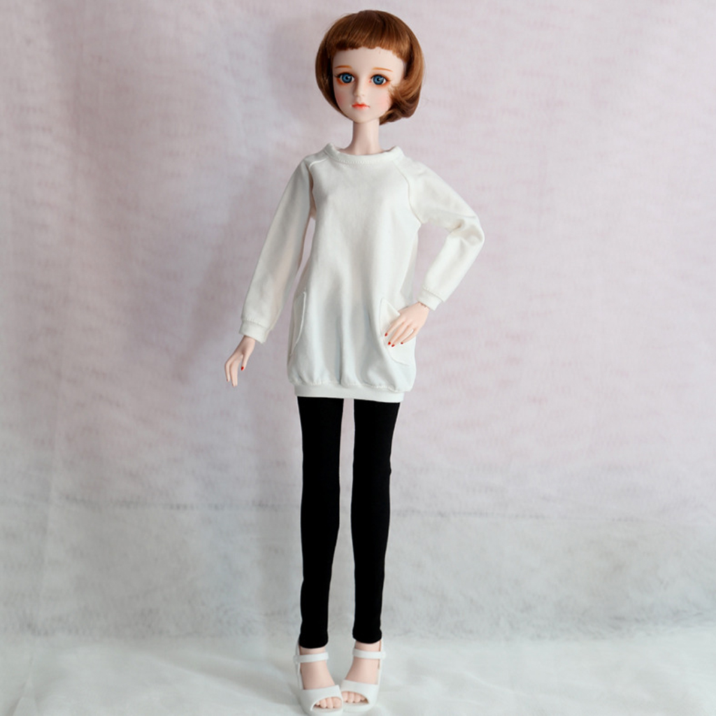 Clothes for 1//4 BJD Doll Casual Skinny Pencil Pants 45cm Doll Trousers 1//4