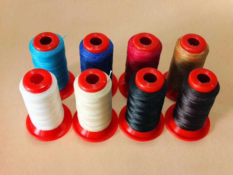 DIY kožené modely 0,55mm 9-pásmové polyesterové ruční šití voskované nitě 109,35 yds (100m)