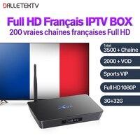 X92 Full HD Francese IPTV Box Android 7.1 S912 3G 32G H.265 SUBTV Abbonamento IPTV Francia Arabo VIP Sport IPTV VOD Francese film