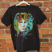 The Doors Jim Morrison Light My Fire Graphic Band Tee T-Shirt Sz M Medium Summer Fashion Men T Shirt