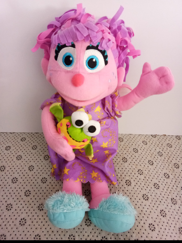 Us 21 99 Sesame Street Abby Cadabby Plush Toys With Frog 30cm In Stuffed Plush Animals From Toys Hobbies On Aliexpress