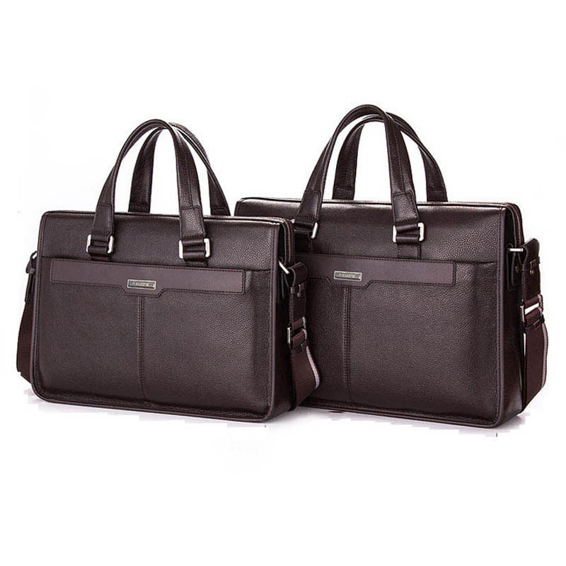 Men bag business style 2018 vintage handbag men briefcase laptop quality pu leather bag men messenger bags crossbody bag M0001 fashion men bags business briefcase handbag pu leather multi style luxury shoulder messenger travel bag high quality men s bag