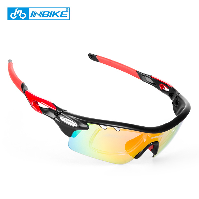 INBIKE Sport Polarized Cycling Glasses 5 Lens Clear MTB Bike Glasses Eyewear Outdoor Sport Running Driving Sunglasses Men Women анатолий пушкарёв желудок мозг и звёздное небо