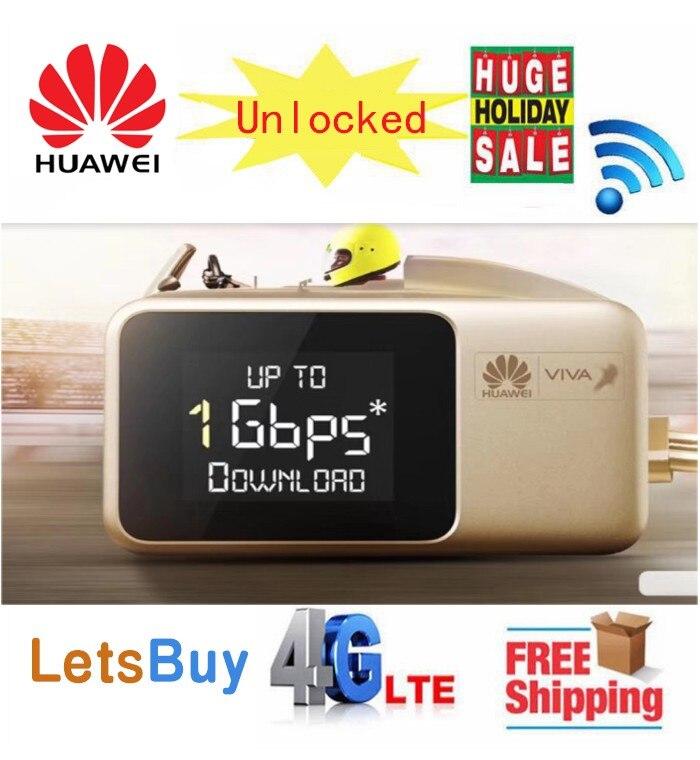 Desbloqueado Huawei E5788 E5788U-96A Cat16 VIVA LOGO Gigabit Bolso 4G 5G LTE Móvel Wi-fi Router