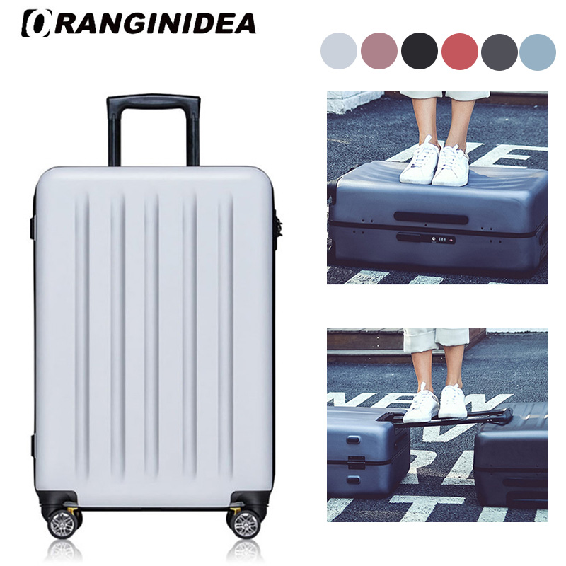 2022 inches Girl Trolley Case Students Ultra Light Travel Waterproof Rolling Luggage Spinner Suitcase Extension Boarding Box new 2024 inches business trolley case pc students travel luggage mute spinner rolling suitcase combination lock boarding box