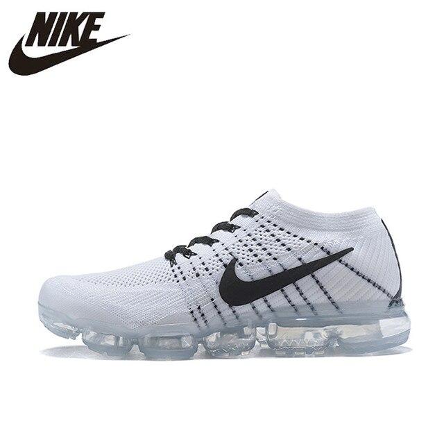 Nike aire VaporMax Flyknit zapatos para correr para hombres deportes al aire libre cómodo Durable para correr zapatillas de deporte 849558 EUR tamaño M GZ