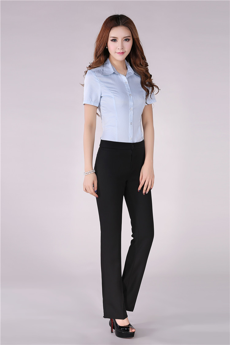 formal pants and blouse set breeze clothing