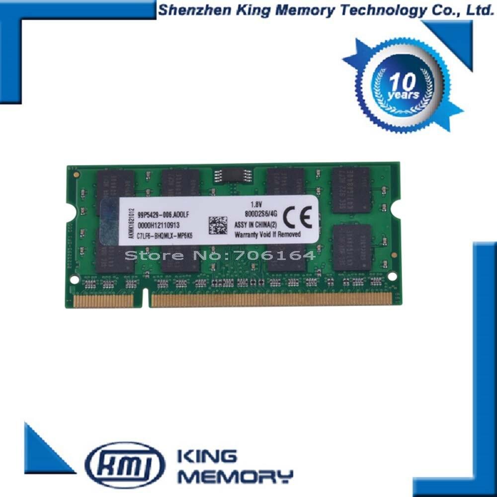 DDR2 4GB sodimm memory ram 800 mhz for laptop notebook 200pin ram memoria
