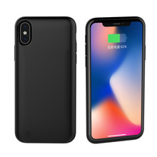 Protable Power Bank Pack Charging Case  For iPhone X XS Battery Charger Case External Back Clip Battery Cases