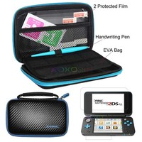 3 In 1 Kit Screen Protector Hard EVA Travel Protective Pouch Bag Case Shell Protector For