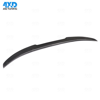 E92 M3 Spoiler Wing M4 Style For BMW E92 Coupe Carbon Fiber Rear Trunk Spoiler P M3 PSM Style 2005 2006-2008 2009 2010 2011 2012 image