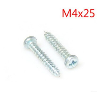 Hard galvanized tapping screw head screws, pan head tapping screws <font><b>m4x25</b></font> image