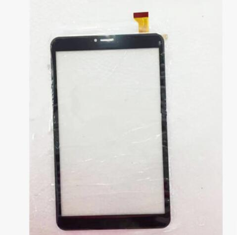 New touch screen Digitizer for 8 Irbis TZ851 tablet Capacitive Touch Panel Glass Sensor Replacement Free Shipping black english collar buttons front grid pattern shirt