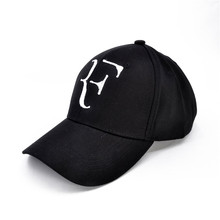 Roger Federer RF hombres gorras de béisbol de algodón casual hip hop gorra  ajustable deportes sombrero en Gorras de béisbol de Deportes y ocio en ... 486f77c2139