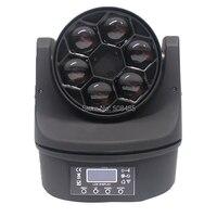 Новый 6x15 Вт RGBW 4 в 1 светодиодный мини Би глаз луч света DMX512 перемещение головы свет этап Дискотека Dj Dmx лампы Strobe лазерное шоу вечерние Licht