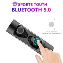 X8 наушники-вкладыши TWS Bluetooth наушники IPX7 Водонепроницаемый Touch Управление Беспроводной стереонаушники с микрофоном PK i10 наушники-вкладыши TWS