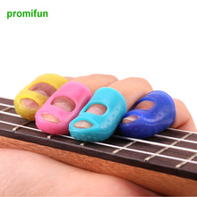 Free Shipping fingertip introductory guitar, guitar finger cot, protect the finger to prevent the pain of silicon materialZ53001