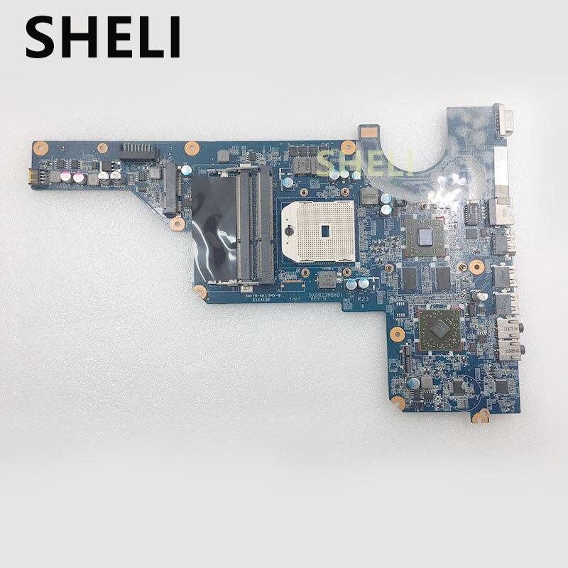 SHELI 649949-001 Pour HP G4 G6 G7 Carte Mère DA0R23MB6D1