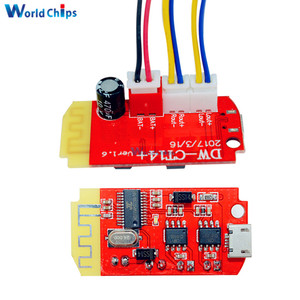 Image 1 - DC 3.7V 5V 3W Digital Audio Amplifier Board Double Dual Plate DIY Bluetooth Speaker Modification Sound Music Module Micro USB